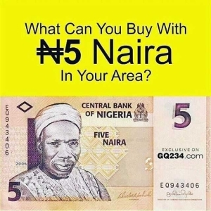 QOD: What Can You Buy With N5 In Your Area?
